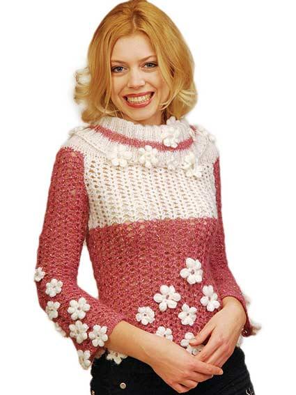 Курсы вязания свитер