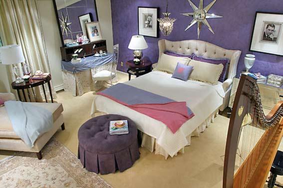 Спальня звезды