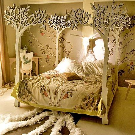 оригинальная спальня