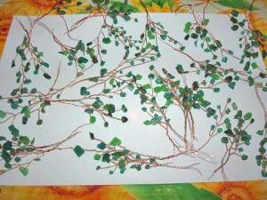 веточки деревца