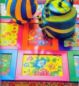 цветные рамки яркие картины