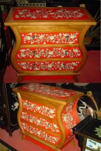 шкаф и мебель роспись