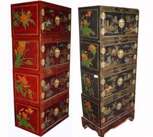 шкаф комод мебель роспись