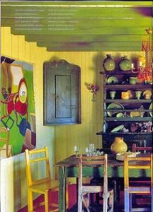 этническая кухня интерьер