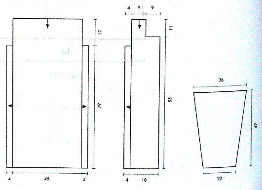 Крючок 1,5. Сердечко с атласной лентой - схема вязания крючком, рисунок.