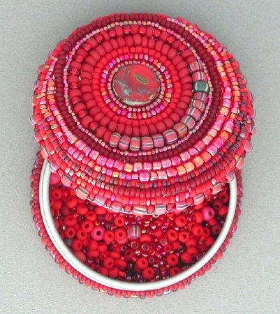 шкатулки-сердечка из бисера схемы плетения - Сайт о бисере.