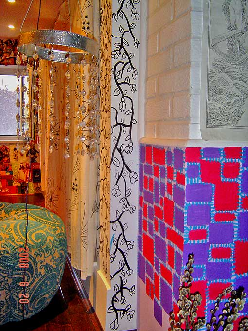 рукотворный интерьер и декор хиппи стиль