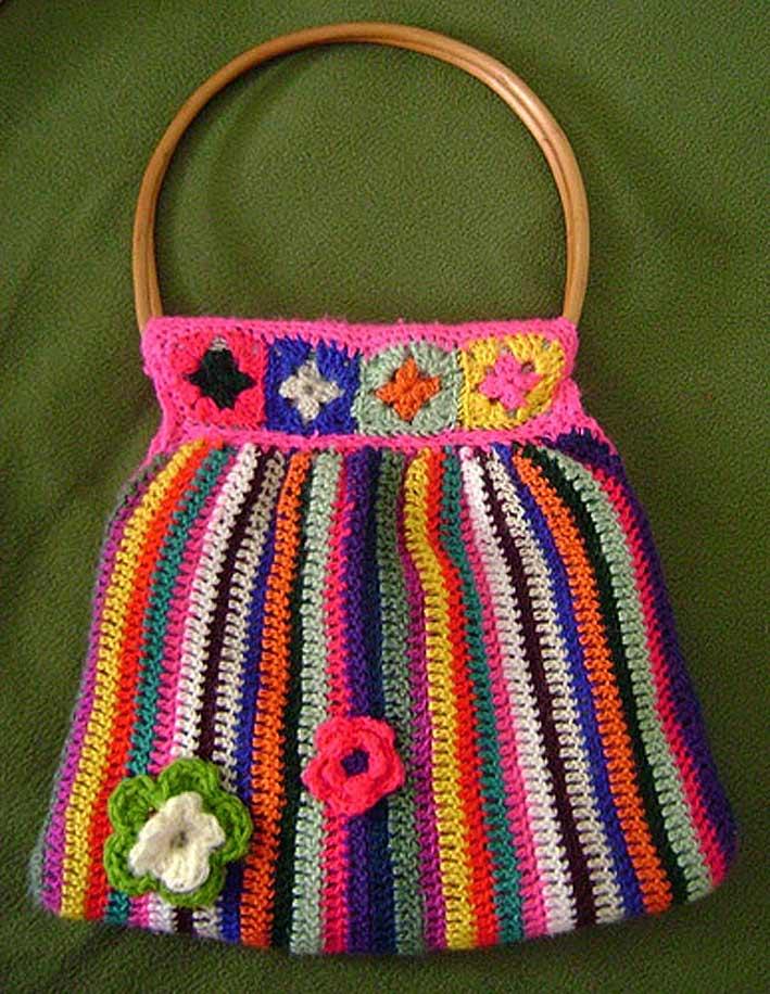 сумка связанная крючком
