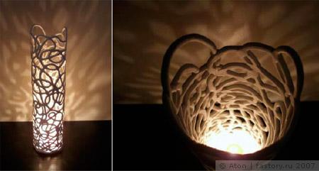 светильник хенд-мейд своими руками