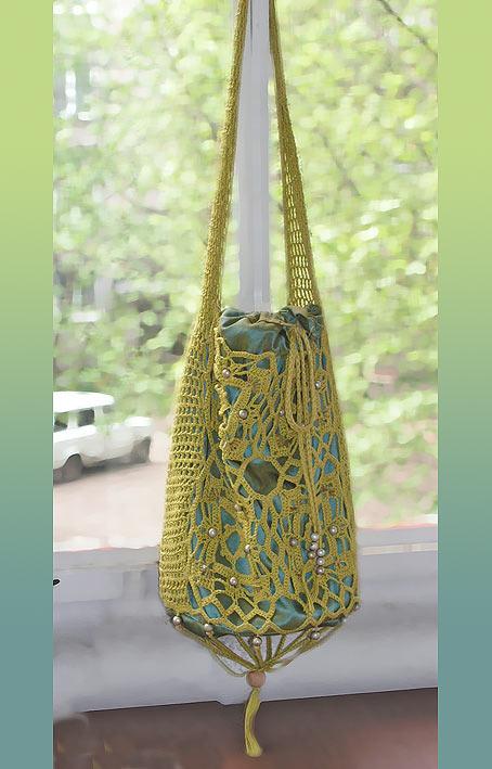 вязаные сумки своими руками схемы вязаные крючком.