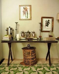 столик декорирование