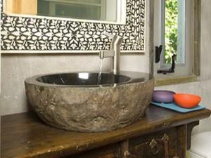 оригинальный интерьер и декор ванной