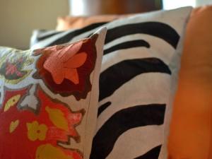 интерьер подушки