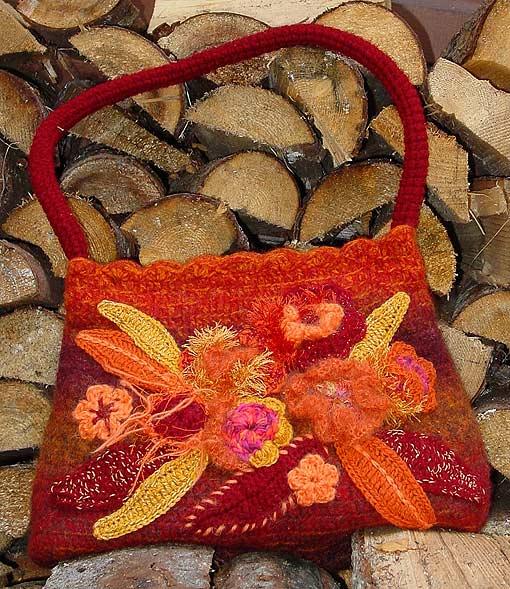 Идеи хенд-мейд: сумки крючком