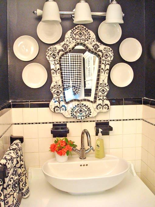 интерьер ванной винтаж