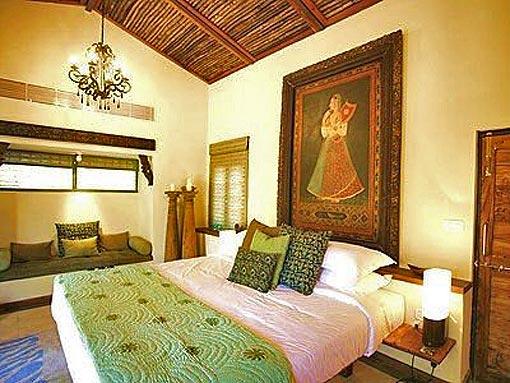 Оригинальный интерьер спальни