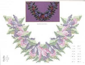 схемы для вышивки или плетения бисером
