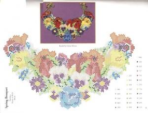 схемы плетения или вышивки бисером