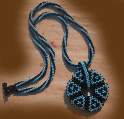 кактус из бисера схема плетения