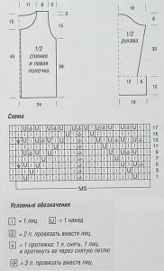 схема-жакета