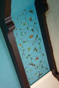 графика в интерьере роспись стены