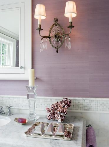 идея декора ванной комнаты