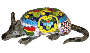 статуэтка с мексиканской росписью