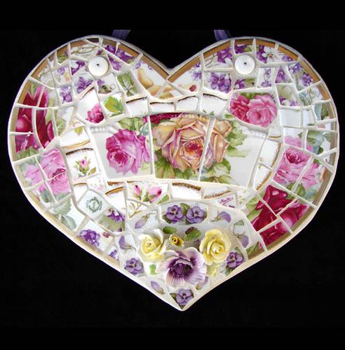 вещи украшенные мозаикой