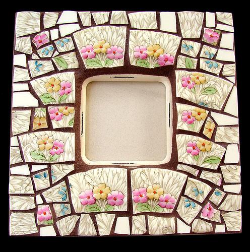 украшение предметов обихода мозаикой своими руками