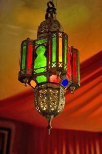 марокканский светильник