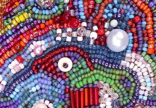 """Tela Artis (Тэла Артис) - схемы и наборы для вышивки бисером от производителя.  Чехол для очков и телефона  """"Фуксия """"."""