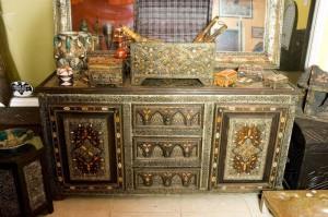 марокканская этническая мебель