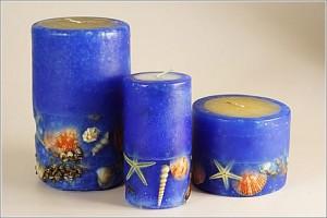декоративные свечи своими руками