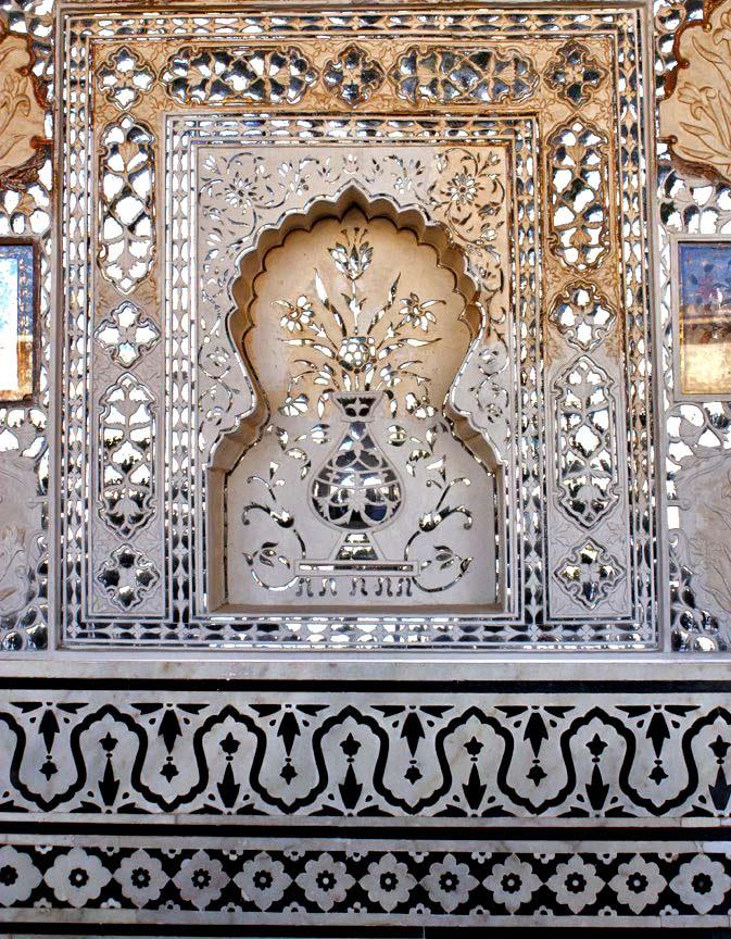 индийская роспись узоры