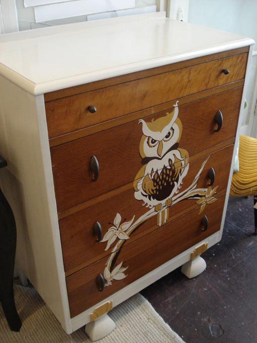 реставрация роспись мебели
