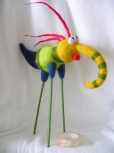 игрушки своими руками птица