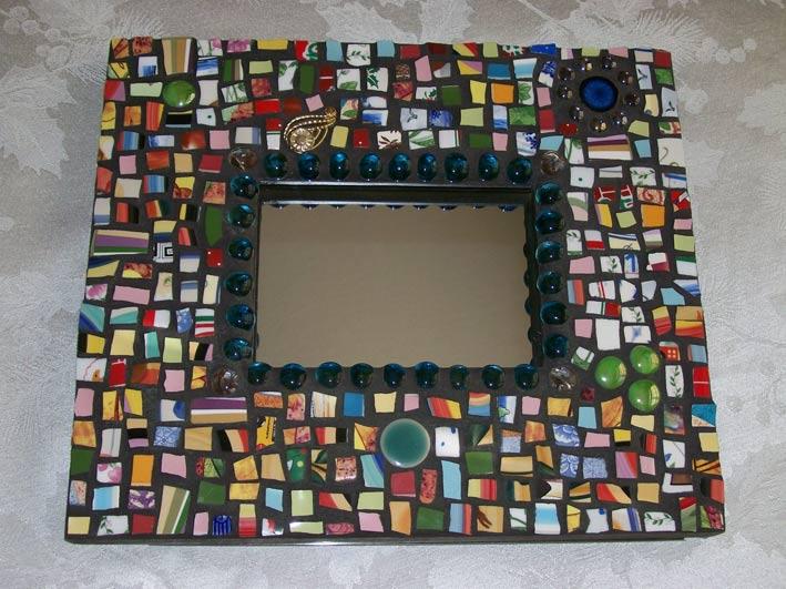 Декор на зеркале своими руками мастер класс фото