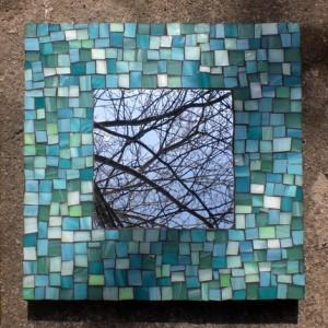 зеркало отделанное мозаикой своими руками