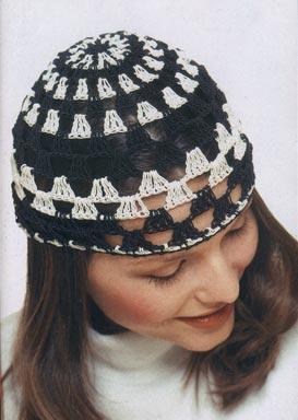 Рхемы моделей шапок (вязание крючком) со схемами.