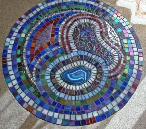 столешница отделанная мозаикой своими руками