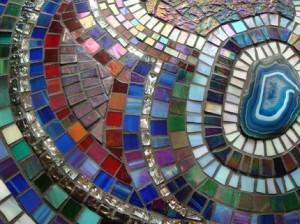 столешница мозаика