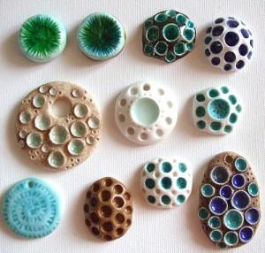 бусины из пластики