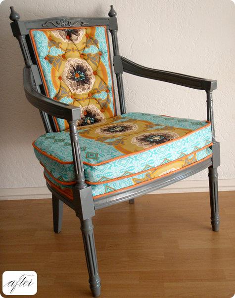 Как обновить железный стул