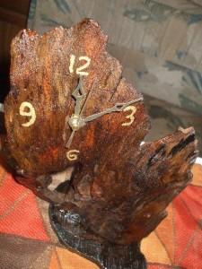 живое дерево хенд-мейд часы