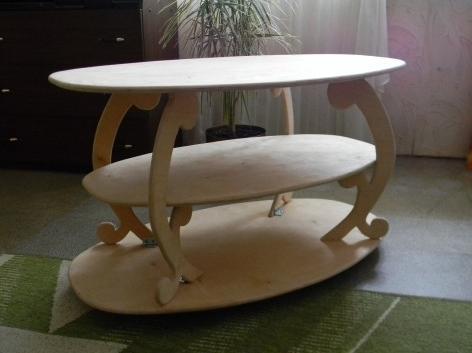 Журнальный столик из фанеры