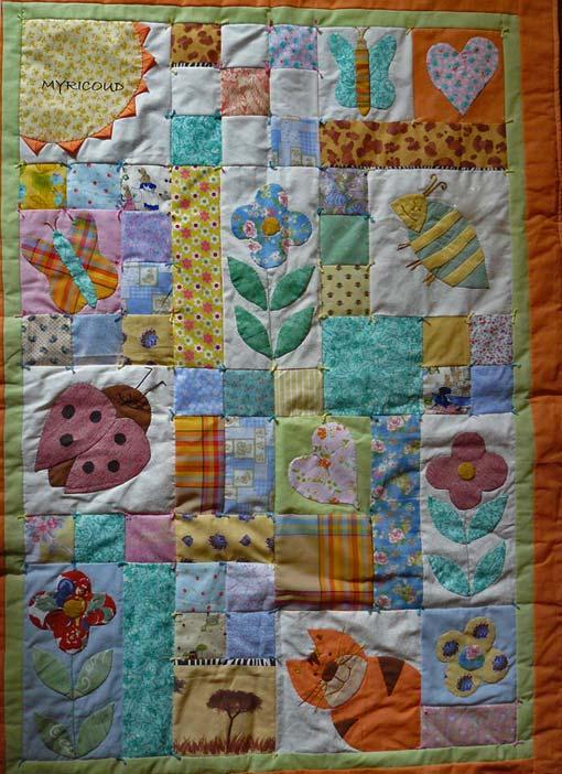 веселые детские одеяла пэчворк
