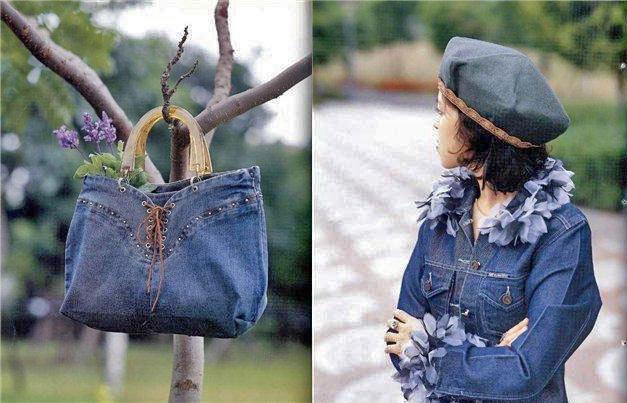 сделать из старых джинсов