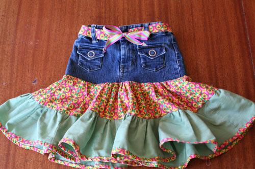 выкройка прилегающей юбки