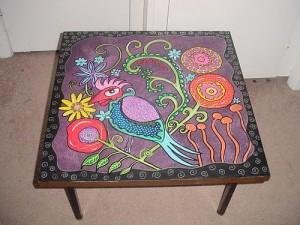 роспись столов