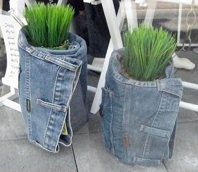 Старым джинсам - вторую жизнь!